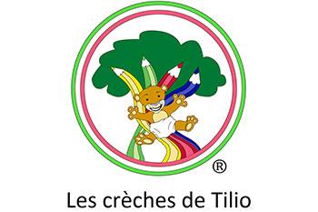 logo les crèches de tilio