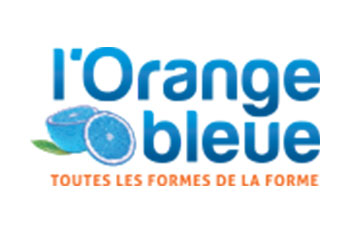 logo l'orange bleue