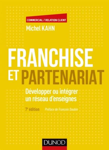 livre franchise partenariat rédigé par Michel Kahn