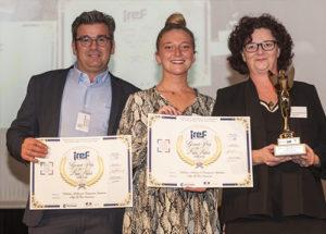 Trophée « Grand Prix du Lien Social » : Hélène Aubry & Françoise Spadoni, Âge d'Or Services