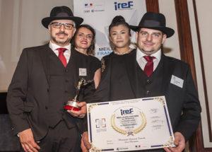 Trophée « Meilleurs Espoirs de la Franchise & du Partenariat » : Laurent Franchi & Bruno Debs, Les Parrains.