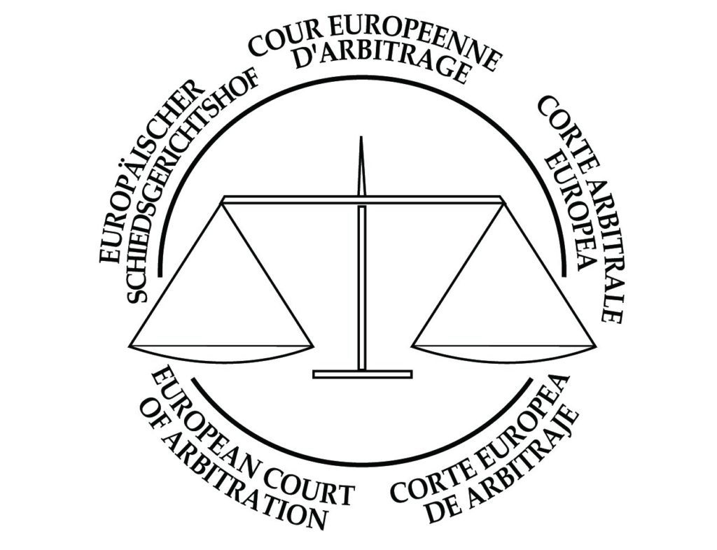 logo officiel court arbitrage europe