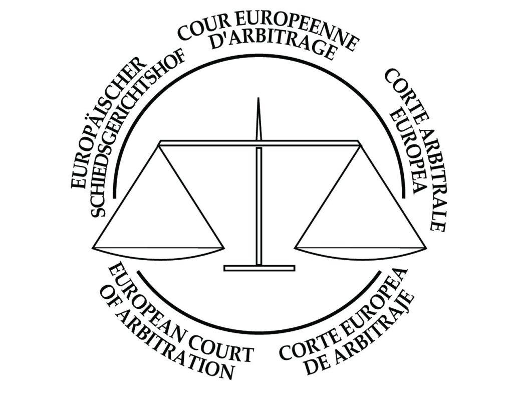 logo officiel court arbitrage europe