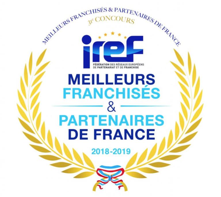 badge meilleurs franchisés et partenaires de France