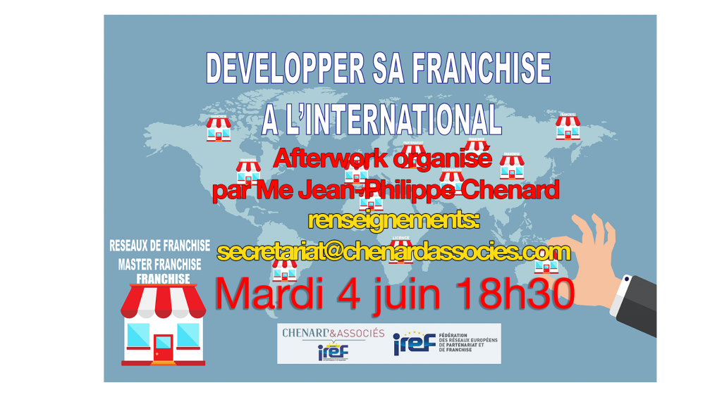 evenement developper sa franchise à l'international