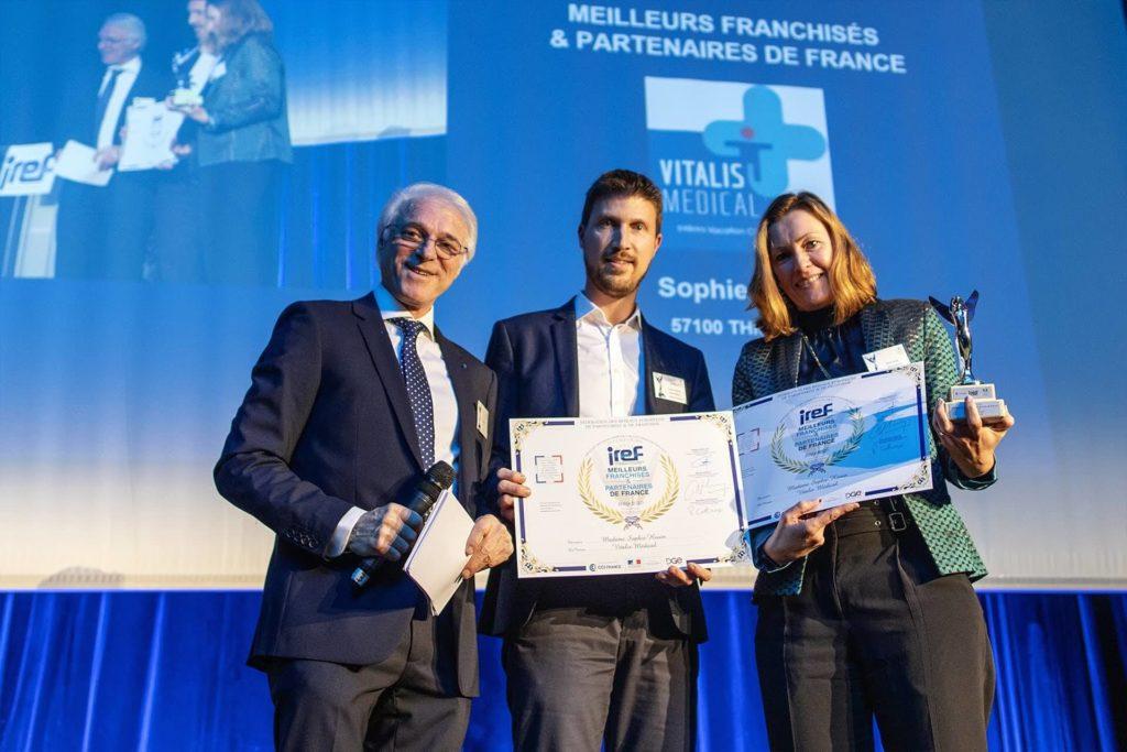 Remise des trophées de l'IREF Novembre 2019